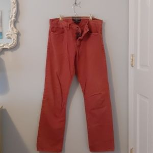 MEN'S Lucky Brand Nantucket Red Denim Jeans